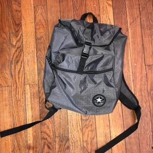 NWOT Grey converse backpack